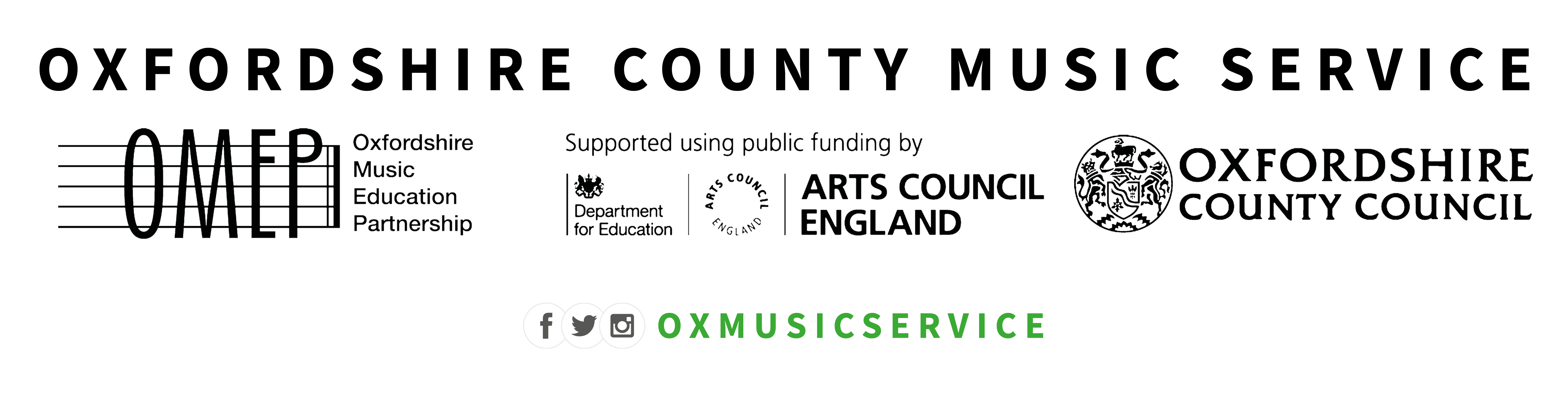 Oxfordshire County Music Service Logo